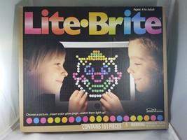 Lite Brite Magic Screen Vintage Fun Light Bright Game Templates Arts & C... - $36.45