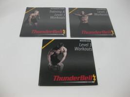 Thunderbell Workout DVD Lot - Training & Level 1 2 & 3 - 3 Disc Lot - 2 ... - $49.49