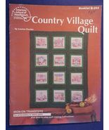 1 VTG 1981 American School of Needlework Leaflet Country Village Quilt Q... - $7.99
