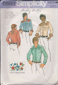 Primary image for Simplicity Pattern #6693 Teen-Boys' & Men's Shirt
