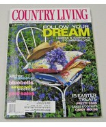 Country Living Magazine April 2000 Kitchen Makeover, Yard Sales - $8.35