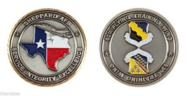 "SHEPPARD AIR FORCE BASE 80TH FLYING 82ND TRAINING WING 1.75""  CHALLENGE ... - $16.24"