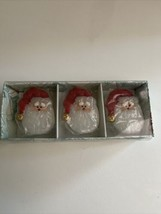 Set of Three Santa Floating Candles New in Box Candle-Lite New - $11.88