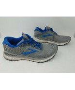 Brooks Mens Adrenaline GTS 20 1103072E051 Gray Blue Running Shoes Size 1... - $49.49