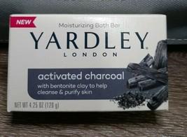 (1) Yardley London Activated Charcoal Bath Bar Soap 4.25oz - $9.85