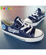 los angeles dodgers shoes womens la dodgers sneakers baseball fans birth... - $80.00