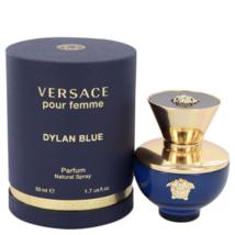 Versace Dylan Blue Pour Femme 1.7 Oz Eau De Parfum Spray image 1