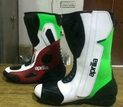 Aprilia  Motorbike leather boots CE Approved - $140.00