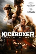 Kickboxer Retaliation movie DVD Jean-Claude Van Damme Mike Tyson Alain M... - $19.99
