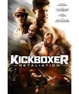 Kickboxer Retaliation movie DVD Jean-Claude Van Damme Mike Tyson Alain M... - $19.99