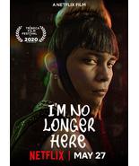 """I'm No Longer Here Poster Fernando Frias 2019 Movie Art Film Print 24x36"""" 27x40"""" - $10.90 - $18.90"""