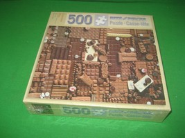 Bits & Pieces 500 Piece Puzzle Chocolate Bliss NIB - $6.76