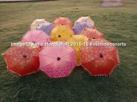Indian Traditional Wedding Decorative Handmade 50 PC Lot Sun Umbrella P... - $209.09