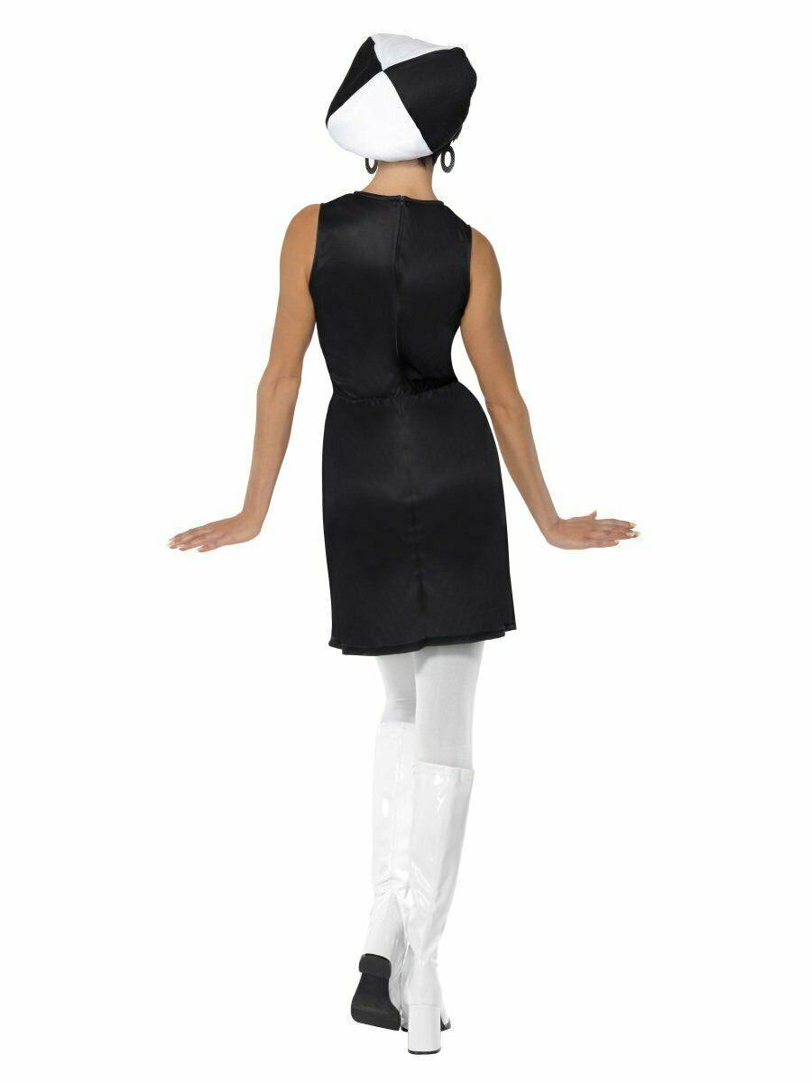 Smiffys 1960er Jahre Gogo Party Girl Mod Kleid Erwachsene Damen Halloween Kostüm