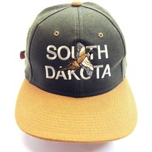 SOUTH DACOTA BASEBALL CAP GREEN/BROWN - £7.45 GBP