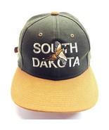 SOUTH DACOTA BASEBALL CAP GREEN/BROWN - £7.95 GBP