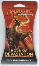 Magic The Gathering MTG 1x Hour of Devastation Booster Pack Retail Packa... - $9.50