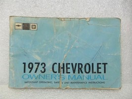 1973 Chevy Chevrolet Owners Manual 16002 - $18.76