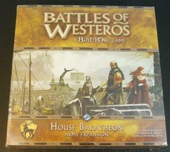 Battles of Westeros House Baratheon Army Expansion Battlelore Fantasy Fl... - $39.60