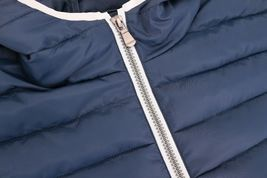 Men's Puffer Hooded Lightweight Zip Insulated Packable Quilted Jacket image 5