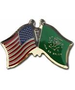 Pack of 24 USA American Erin Go Bragh Friendship Flag Hat Cap lapel Pin - £31.16 GBP