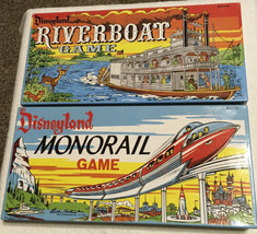 Disneyland 50th Anniversaire Riverboat Et Monorail Board Jeux - Presque ... - $72.87