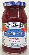 Smucker's Strawberry Sugar Free Preserves 12.75 oz Smuckers - $5.63
