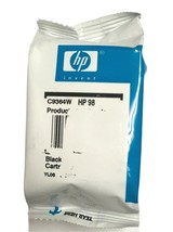 Genuine HP 98 Inkjet Print Cartridge - Black Ink C9364W  - $9.99