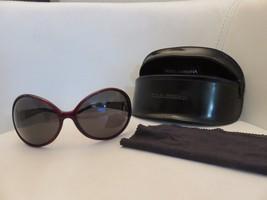 Dolce & Gabbana DG 808S K55 Sunglasses RED w/ case D&G Designer - £56.48 GBP