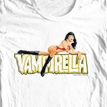 Retro horror comics pin up girls elvira online graphic tee shirt store for sale white   thumb200