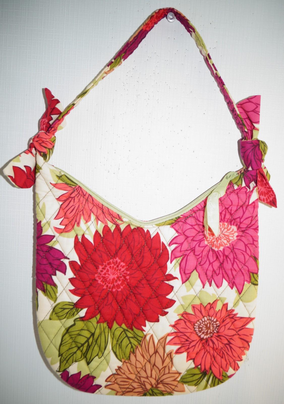 f05aca0081 Dsc02907. Dsc02907. Previous. Vera Bradley Hello Dahlia Retired Hobo  Shoulder Bag Purse Pink Flowers