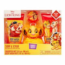 Disney The Lion King 4-Piece Soap and Scrub Body Wash and Shampoo Set Each - $12.50