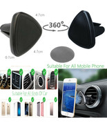 Car Universal Air Vent Magnetic Mount Holder for all Mobile Phone GPS Sa... - $3.23