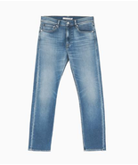 Calvin Klein Jeans Ckj 035 Straight Jeans Size Light Wash 30X30 - $54.44
