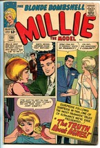 Millie The Model #130 1965-Marvel-Truth About Agnes-fashion-paper dolls-VG - $37.83