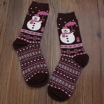 Women's Socks, Girl cotton Christmas Socks - $14.99