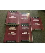 2003 JEEP WRANGLER Service Shop Workshop Repair Manual Set Factory W Dia... - $185.80