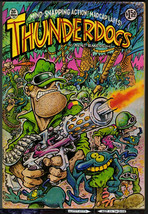 Thunderdogs, Hunt Emerson, Rip Off Press 1981, vintage Underground comix... - $7.98