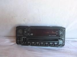 2001-2005 Chrysler Sebring Stratus Radio 4 Disc Cd Face Plate MR587284 J... - $12.13