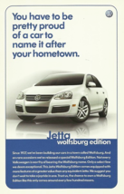 2007 Volkswagen JETTA WOLFSBURG Edition sales brochure sheet 07 VW - $8.00