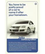 2007 Volkswagen JETTA WOLFSBURG Edition sales brochure sheet 07 VW - $8.00