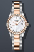 Longines Conquest Classic Automatic 18k Gold and Stainless steel Diamond Bezel D - $5,637.18