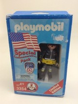 2002 Playmobil 3354 Special Commemorative Pack of 9/11 Fire Department f... - $15.79