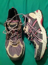 ASICS 9M WOMEN'S GEL ENDURO 5 RUNNING ATHLETIC SHOES SNEAKERS T9C9N GRAY... - $21.87