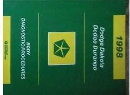 1998 Dodge Dakota Truck & Durango Suv Body Diagnostic Procedures Shop Manual - $12.20