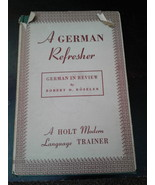 A GERMAN REFRESHER - 1943 Vintage Book - $22.50