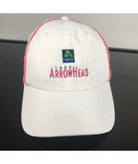 """""""Lake Arrowhead"""", Embroidered Ball Hat, Adjustable Strap. NWOT. White cap - $14.36"""