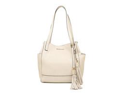 Michael Kors Ashbury grab Bag Large Pebble Leather Shoulder Purse ECRU N... - $2.406,12 MXN