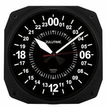 "24 hr. ""Zulutime"" 10"" Instrument-Style Wall Clock by Trintec TRI-0101 - $39.11"
