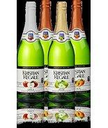 Kristian Regale Sparkling Fruit Juices 4 Packs (Summer White Variety Pack) - $29.39